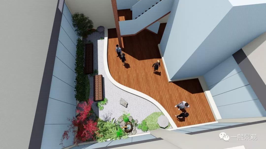 庭院景观绿化方案|施工